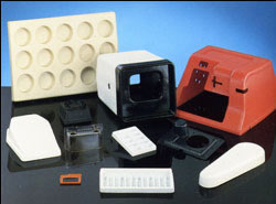 Thermoforming Plastic Trays